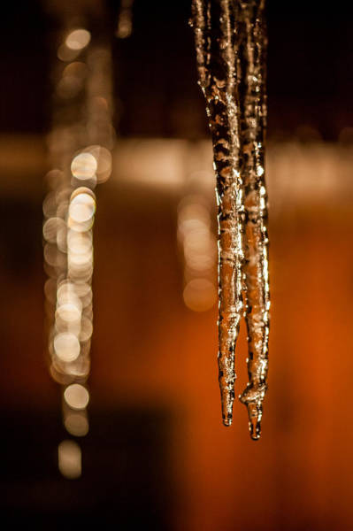 Icicles Wall Art - Photograph - Icicles by Aaron Aldrich