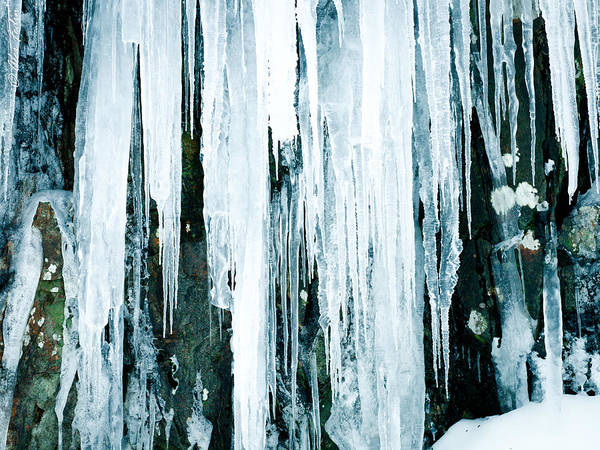 Photograph - Icicles by Alexander Fedin