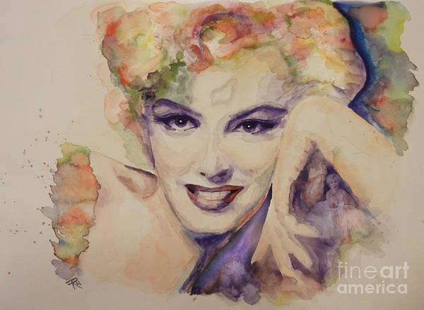 Norma Jeane Mortenson Painting - Icon by Ruta Naujokiene