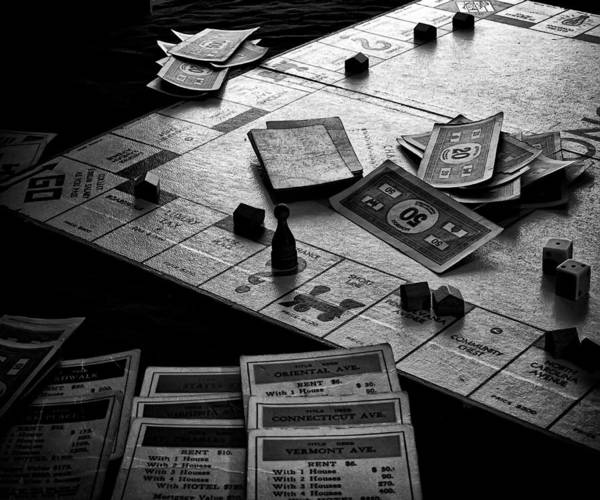 Monopoly Photograph - Iconic Game by Camille Lopez