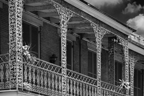 Photograph - Iconic New Orleans Wrought Iron Balcony by Christine Till