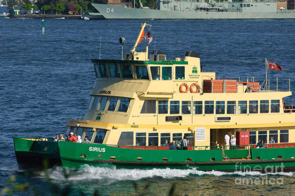 Photograph - Iconic Sydney Ferry On Sydney Harbour by David Hill