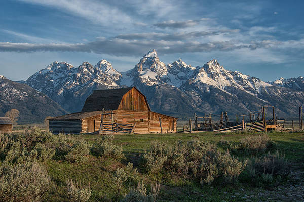 Photograph - Iconic Tetons by Darlene Bushue