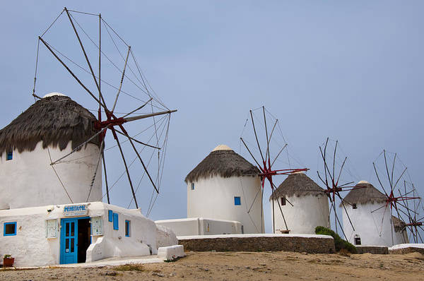 Photograph - Iconic Windmills  by Brenda Kean