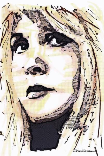 Fleetwood Mac Wall Art - Painting - Icons - Stevie Nicks by Jerrett Dornbusch