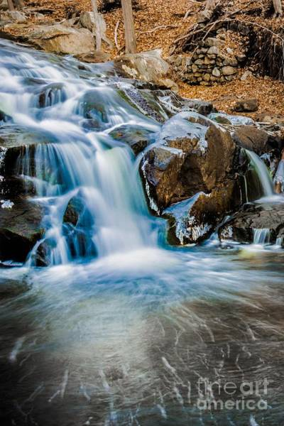 Photograph - Icy Falls Sterling Forest Ny by Jim DeLillo
