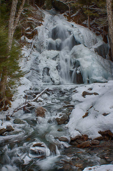 Photograph - Icy Flow Of Water by Jeff Folger