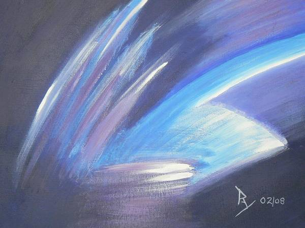 Painting - Icy by Ray Nutaitis