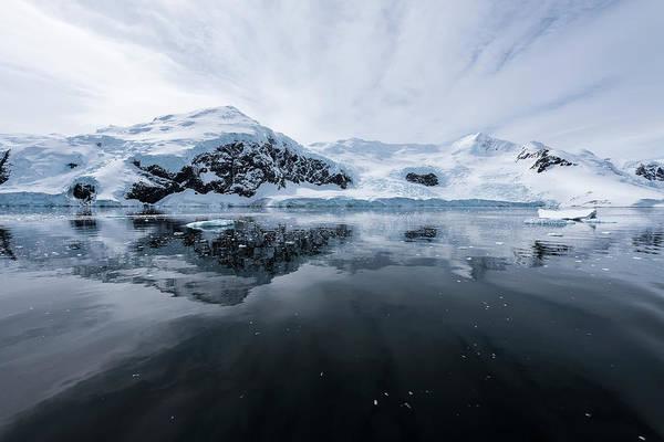 Wall Art - Photograph - Icy Reflections  Antarctica by Deb Garside