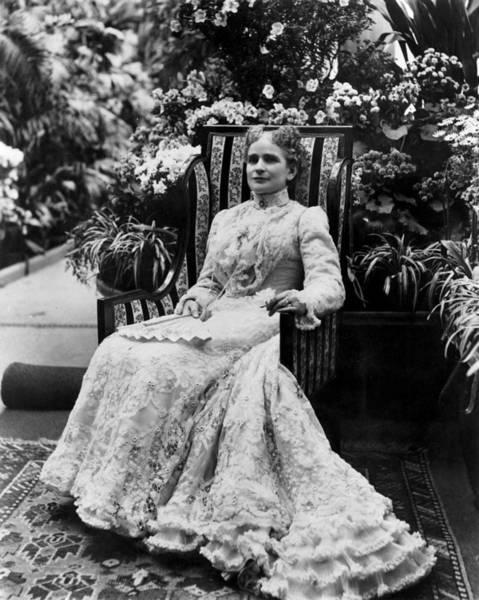 Photograph - Ida Mckinley (1847-1907) by Granger