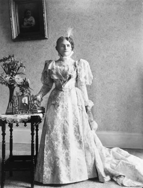 Photograph - Ida Saxton Mckinley (1847-1907) by Granger