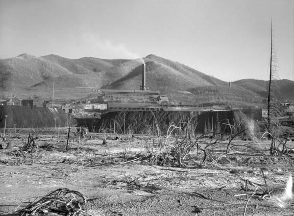 Lead Mine Wall Art - Photograph - Idaho Lead Mine, 1936 by Granger