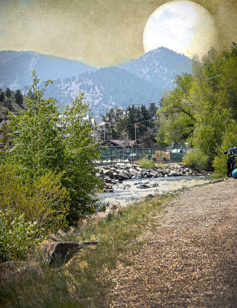Photograph - Idaho Springs Paradise by Judy Hall-Folde