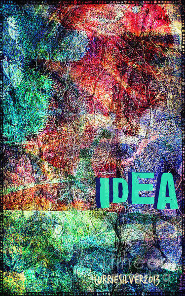 Wall Art - Digital Art - Idea by Currie Silver