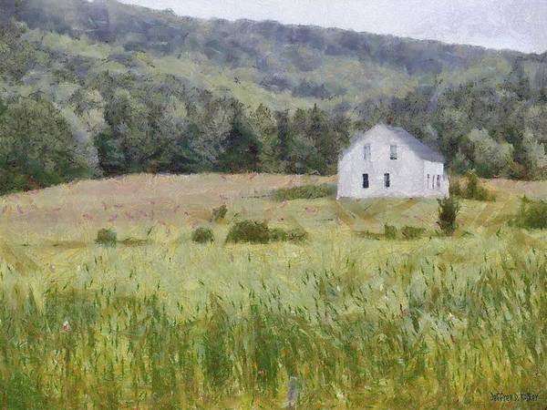 Painting - Idyllic Isolation by Jeffrey Kolker