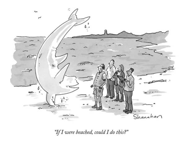 April 6th Drawing - If I Were Beached by Danny Shanahan