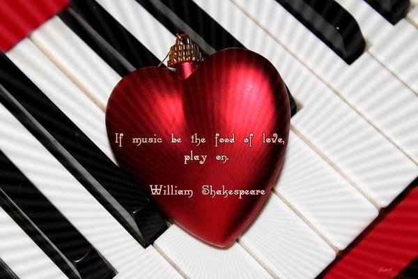 If Music Be The Food Of Love Art Print