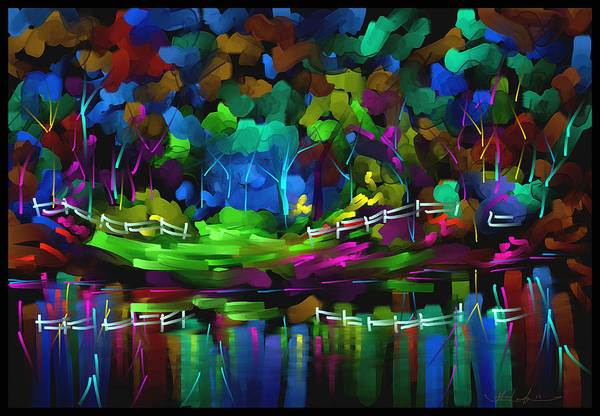 Wall Art - Painting - If You Like Rainbows by Steven Lebron Langston