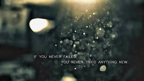 Painting - If You Never Failed by Florian Rodarte