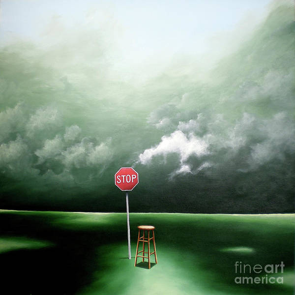 Painting - If You Were Waiting For A Sign This Is It by Ric Nagualero