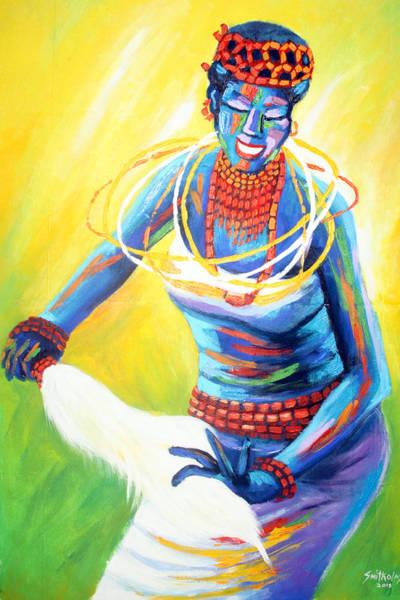 Nigeria Painting - Igbo Dancer by Olaoluwa Smith