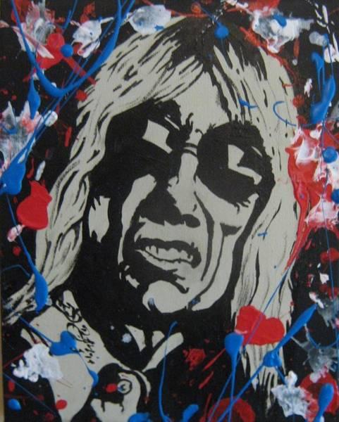 Iggy Pop Painting - Iggy Pop by David Boettcher