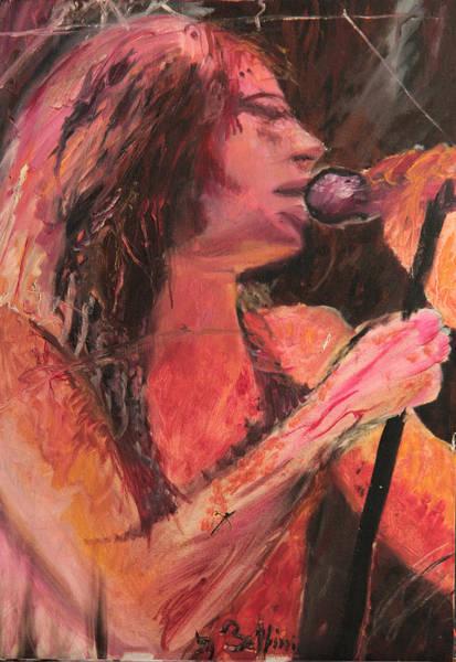 Iggy Pop Painting - Iggy Pop by Francesca Bellini