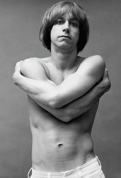 Photograph - Iggy Pop Shirtless by Peter Hujar