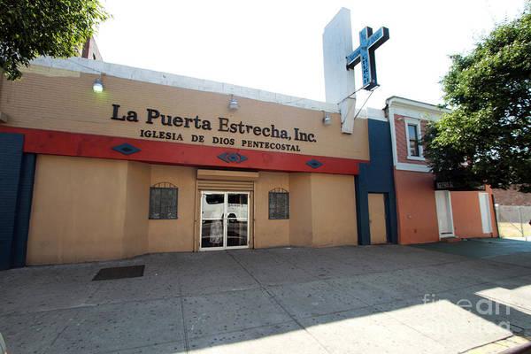 Photograph - Iglesia De Dios Pentecostal Puerta Estrecha by Steven Spak