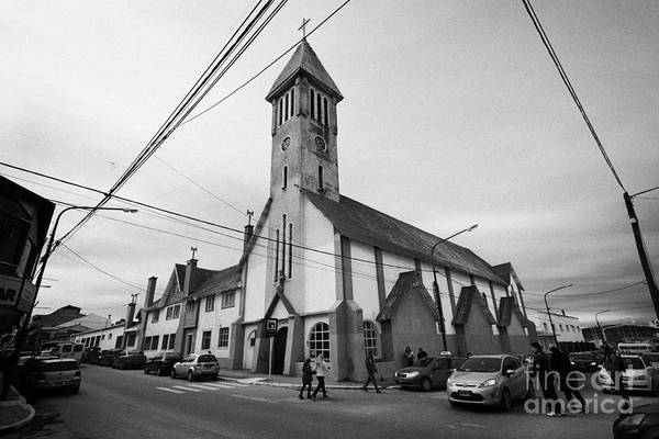 Senora Photograph - iglesia nuestra senora de la merced our lady of mercy church Ushuaia Argentina by Joe Fox