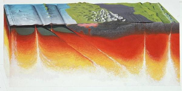 Wall Art - Photograph - Igneous Activity by Natural History Museum, London/science Photo Library