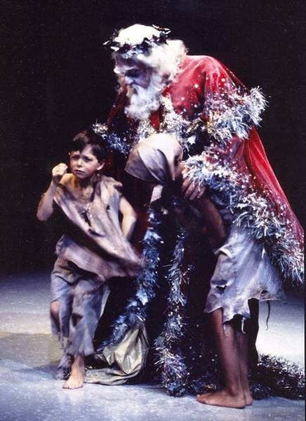 Center Stage Photograph - Christmas Carol by Christopher James