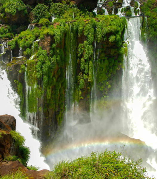 Photograph - Iguazu Falls By Mike-hope by Michael Hope