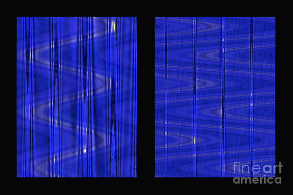 Digital Art - IIi Frequency Ranges Of Light Series by Nicole Philippi