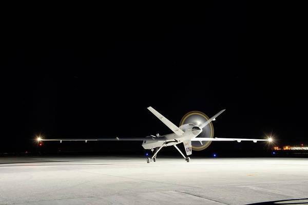Airbase Photograph - Ikhana Unmanned Aerial Vehicle by Nasa, Tony Landis