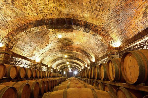 Alcohol Photograph - Il Borro Wine Cellars by Luis Davilla