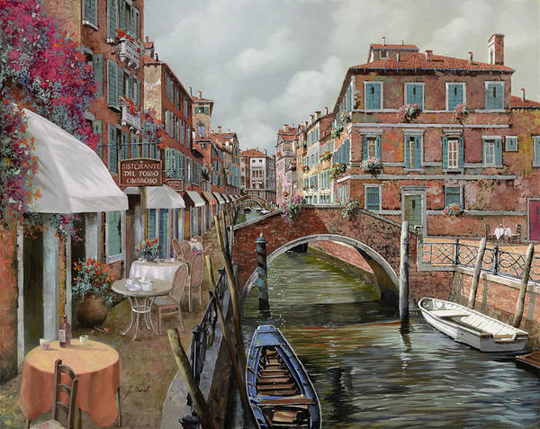Wall Art - Painting - Il Fosso Ombroso by Guido Borelli