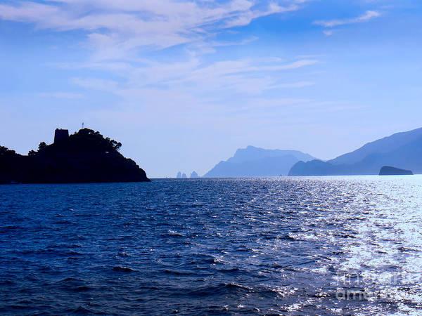 Photograph - Il Galli Islands And Capri by Brenda Kean