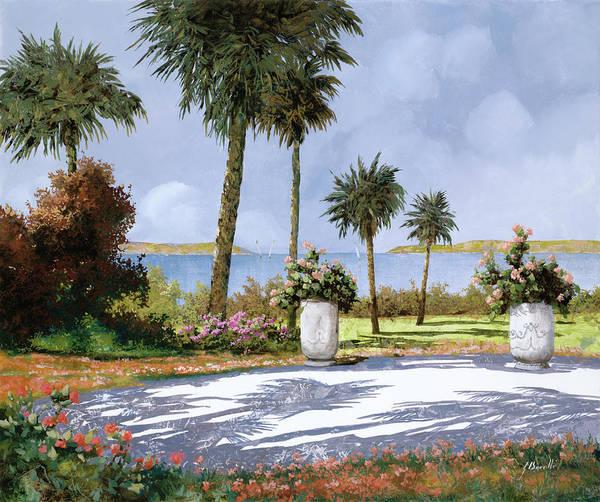 Walking Painting - Il Giardino Delle Palme by Guido Borelli