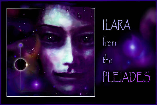 Pleiades Painting - Ilara From The Pleiades by Hartmut Jager