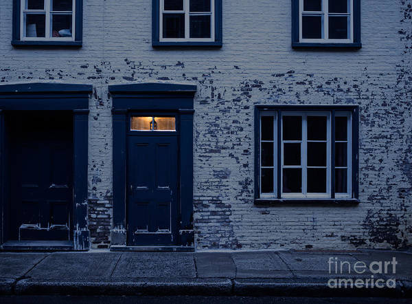 Old Quebec Photograph - I'll Leave The Light On For You by Edward Fielding