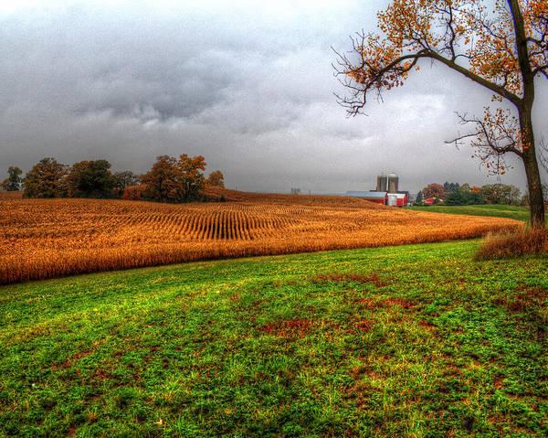 Illinois Farmland I Art Print