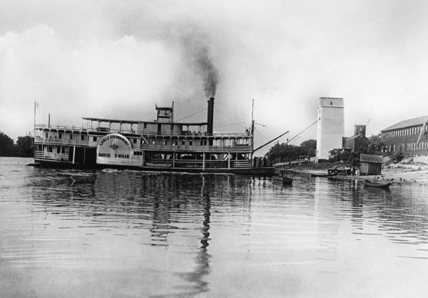 Photograph - Illinois Steamboat by Granger