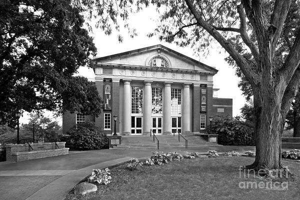 Photograph - Illinois Wesleyan University Hansen Student Center by University Icons