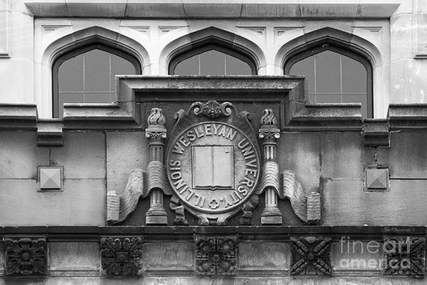 Photograph - Illinois Wesleyan University Seal by University Icons