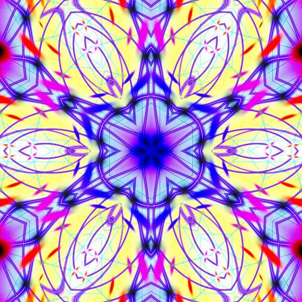 Digital Art - Illuminated Blossom by Derek Gedney