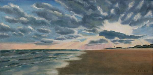 Painting - Illuminated Clouds by Jill Ciccone Pike