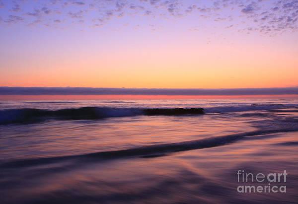 Photograph - Illuminated Waves Encinitas by John F Tsumas