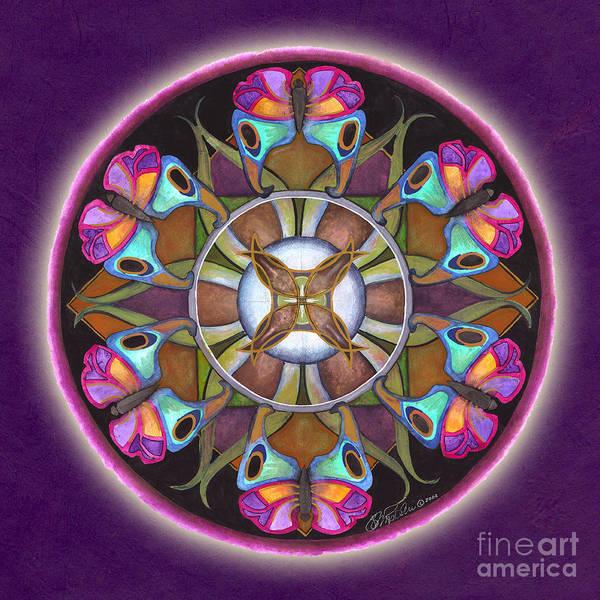 Painting - Illusion Of Self Mandala by Jo Thomas Blaine