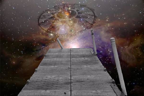 Wall Art - Digital Art - Illusion Of Time by Dan Sproul